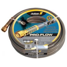 "Jackson Professional Tools 4003900 3/4"" X 50 Ft Commercialgrade Gray Hose"