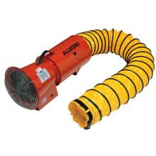 Allegro 9514-25 Ac Axial Blower W/Canister & 25 Feet Ducting