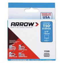 Arrow Fastener 50824 (Pack/1250) 1/2 In 12Mmt50 Gun