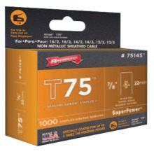 Arrow Fastener 7514S T75 7/8Ul Staple