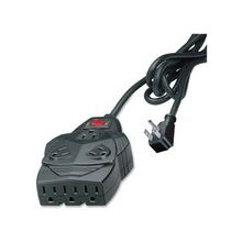 Fellowes 8-outlet surge protection. With 6' cord, space for up to 5 AC adapters. - 8 x NEMA 5-15R - 1460 J - 110 V AC Input - 110 V AC Output