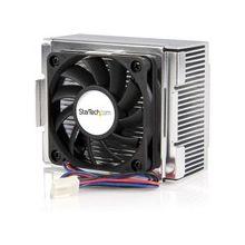 StarTech.com 85x70x50mm Socket 478 CPU Cooler Fan with Heatsink & TX3 Connector - 3500rpm Ball Bearing