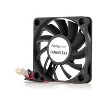 StarTech.com Replacement 60mm Ball Bearing CPU Case Fan - TX3 Connector - System fan kit - 60 mm - 60mm - 4000rpm