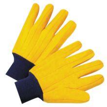 West Chester FM18KWK Knit Wrist Full Yellow Chore Glove-100% Cotton S (1 PR)