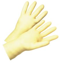 West Chester 3343/9 Standard Unlined Amber Latex Gloves (1 PR)