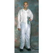 West Chester 3509/XXXXXL Sbp Wht Coverall Elasticwrist/Ankle Hood- Boot (1 EA)
