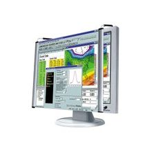 """Kantek 17"""" LCD Magnifier - Magnifying Area 14.50"""" Width x 12.38"""" Length - Overall Size 12.9"""" Height x 16.1"""" Width"""