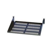 Tripp Lite Rack Enclosure Cabinet Cantilever Fixed Shelf 60lb Capacity 2URM - 2U Wide - Black - 59.52 lb x Maximum Weight Capacity