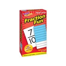 Trend Fraction Fun Flash Card - Educational