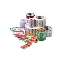 "Zebra Label Paper 4 x 4in Direct Thermal Zebra Z-Perform 2000D 1 in core - 4"" Width x 4"" Length - 640/Roll - 1"" Core - 6 / Carton - White"