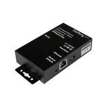 StarTech.com Serial Ethernet device server - 1 port - power over Ethernet - PoE - 1 x RJ-45 10/100Base-TX PoE