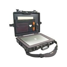 "Pelican 1495 Notebook Case with Foam - 17.25"" x 4.87"" x 21.62"" - Black"