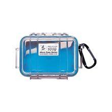 """Pelican 1010 Multi Purpose Micro Case - 4.06"""" x 2.12"""" x 5.88"""" - Blue"""