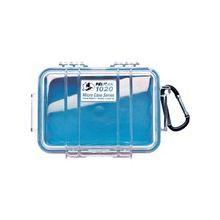 """Pelican 1020 Multi Purpose Micro Case - 4.75"""" x 2.12"""" x 6.82"""" - Blue"""