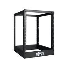 "Tripp Lite 13U 4-Post Open Frame Rack Cabinet Square Holes 1000lb Capacity - 19"" 13U"