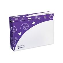 """Pacon Classroom Keepers Storage Box - External Dimensions: 30.8"""" Width x 6.5"""" Depth x 23"""" Height - Purple - For Map, Chart, Calendar - 1 Each"""