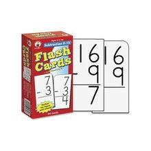 Carson-Dellosa Subtraction 0-12 Flash Cards - Educational