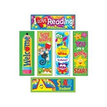 "Trend Reading Fun Bookmark Combo Packs - Fun Theme/Subject - 2"" Width x 6"" Length - Multicolor - 6 / Pack"