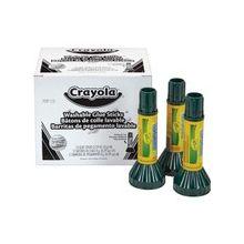 Crayola Washable Glue Sticks - 0.290 oz - 12 / Box - Blue