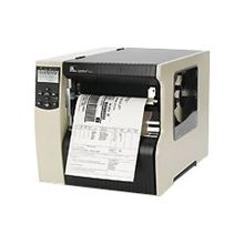 "Zebra 220Xi4 Direct Thermal/Thermal Transfer Printer - Monochrome - Desktop - Label Print - 8.50"" Print Width - Peel Facility - 10 in/s Mono - 203 dpi - 16 MB - USB - Serial - Parallel - Ethernet - LCD - 8.80"" Label Width - 12.50 ft Label Length"