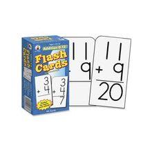 Carson-Dellosa Addition 0-12 Flash Cards - Educational