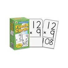 Carson-Dellosa Multiplication 0-12 Flash Card Set - Math