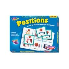 Trend Positions Match Me Games - Educational - 1 to 8 Players