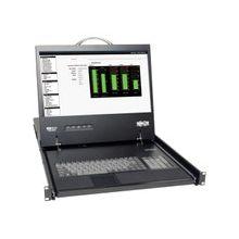"Tripp Lite 8-Port Rack Console Cat5 KVM Switch 1U RM 19"" LCD Rackmount - 8 Computer(s) - 19"" - 1366 x 768 - 4 x PS/2 Port - 2 x VGA - Daisy Chain - TAA Compliant"