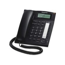 Panasonic KX-TS880-B Standard Phone - Corded - Speakerphone