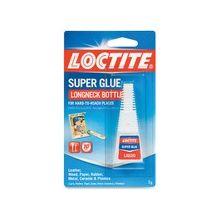 Loctite Longneck Bottle Super Glue - 0.18 fl oz - 1 Each - Clear