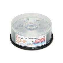 SKILCRAFT CD Recordable Media - CD-R - 52x - 700 MB - 25 Pack Spindle - 120mm - 1.33 Hour Maximum Recording Time