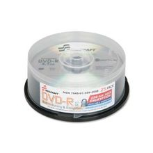 SKILCRAFT DVD Recordable Media - DVD-R - 8x - 4.70 GB - 25 Pack Spindle - 120mm - 2 Hour Maximum Recording Time