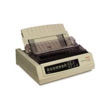 Oki MICROLINE 320 Turbo Dot Matrix Printer - 9-pin - 435 Mono - 240 x 216 dpi - USB - Parallel - Serial