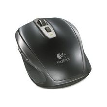 Logitech Anywhere Mouse MX - Laser - Wireless - Radio Frequency - Black - USB - Scroll Wheel - 5 Button(s)
