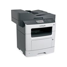 """Lexmark MX510DE Laser Multifunction Printer - Monochrome - Plain Paper Print - Desktop - Copier/Printer/Scanner - 45 ppm Mono Print - 1200 x 1200 dpi Print - 45 cpm Mono Copy - 4.3"""" Touchscreen - 1200 dpi Optical Scan - Automatic Duplex Print - 350 sheet"""