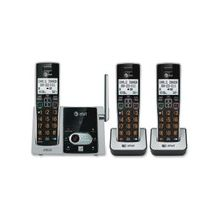 AT&T CL82313 DECT 6.0 Cordless Phone - Cordless - 1 x Phone Line - 2 x Handset - Speakerphone - Answering Machine - Hearing Aid Compatible