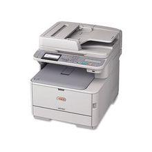 "Oki MC362W LED Multifunction Printer - Color - Plain Paper Print - Desktop - Copier/Fax/Printer/Scanner - 25 ppm Mono/23 ppm Color Print - 1200 x 600 dpi Print - 25 cpm Mono/23 cpm Color Copy - 3.5"" LCD - 1200 dpi Optical Scan - Automatic Duplex Print -"