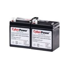 CyberPower RB1270X2A UPS Replacement Battery Cartridge 12V 7AH - 7000 mAh - 12 V DC - Sealed Lead Acid (SLA) - Spill-proof/Maintenance-free - 3 Year Minimum Battery Life - 5 Year Maximum Battery Life