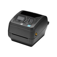 "Zebra ZD500 Direct Thermal/Thermal Transfer Printer - Monochrome - Desktop - Label Print - 4.09"" Print Width - 4 in/s Mono - 300 dpi - 128 MB - USB - Serial - Parallel - Ethernet - LCD - 4.25"" Label Width - 39"" Label Length"