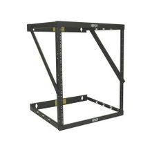 "Tripp Lite 12U Wall Mount Open Frame Rack Cabinet Wallmount Heavy Duty - 19"" 12U Wide x 18"" Deep Wall Mountable - Black Powder Coat - 550 lb x Static/Stationary Weight Capacity"