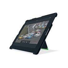 Leitz iPad Case w Stand - iPad - Black - ABS Plastic, Thermoplastic Elastomer (TPE), MicroFiber