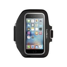 Belkin Sport-Fit Plus Carrying Case (Armband) for iPhone 6S Plus, iPhone 6 Plus - Blacktop - Neoprene - Armband