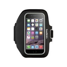 Belkin Sport-Fit Plus Carrying Case (Armband) for iPhone, Money, Key, Accessories - Black - Neoprene - Armband