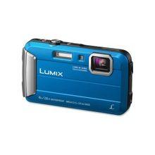 "Panasonic Lumix TS30 16 Megapixel Compact Camera - Blue - 2.7"" LCD - 16:9 - 4x Optical Zoom - 4x - Optical (IS) - 1280 x 720 Video - HD Movie Mode"