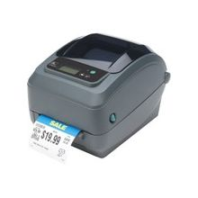 "Zebra GX420t Direct Thermal/Thermal Transfer Printer - Monochrome - Desktop - Label Print - 4.09"" Print Width - 6 in/s Mono - 203 dpi - 8 MB - USB - Serial - Ethernet - Black Bar, Black Mark, Continuous Label, Continuous Receipt, Die-cut Label, Fanfold,"