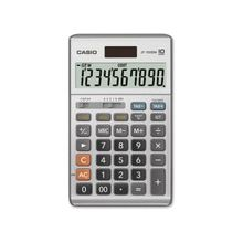 "Casio JF-100BM Simple Calculator - Large Display, Independent Memory, Sign Change, Key Rollover, Decimal Point Selector Switch, Dual Power - Battery/Solar Powered - 6.8"" x 4.2"" x 1.1"" - Plastic - 1 Each"