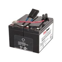 CyberPower RB1290X2B UPS Replacement Battery Cartridge for PR750LCD - 7000 mAh - 12 V DC - Sealed Lead Acid (SLA) - Spill-proof/Maintenance-free - 3 Year Minimum Battery Life - 5 Year Maximum Battery Life