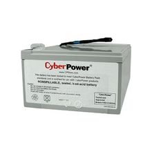 CyberPower RB12120X2A UPS Replacement Battery Cartridge for PR1000LCD - 12000 mAh - 12 V DC - Sealed Lead Acid (SLA) - Leak Proof/Maintenance-free - 3 Year Minimum Battery Life - 5 Year Maximum Battery Life