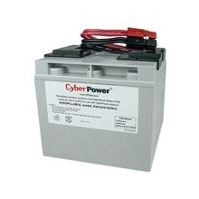 CyberPower RB12170X2A UPS Replacement Battery Cartridge for PR1500LCD - 17000 mAh - 12 V DC - Sealed Lead Acid (SLA) - Leak Proof/Maintenance-free - 3 Year Minimum Battery Life - 5 Year Maximum Battery Life