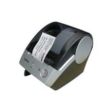 Brother P-touch QL-500 Thermal Transfer Printer - Monochrome - Label Print - 3 in/s Mono - 300 x 300 dpi - USB - Continuous Form, Label